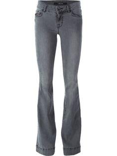 расклешенные джинсы с завышенной талией J Brand