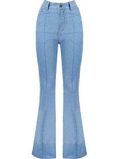 расклешенные джинсы с завышенной посадкой  Amapô