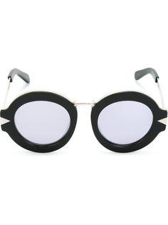 солнцезащитные очки с круглой оправой Karen Walker Eyewear