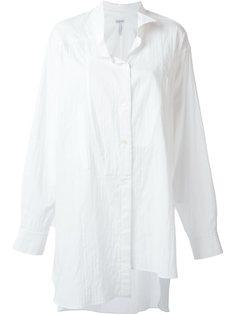 длинная асимметричная рубашка Loewe