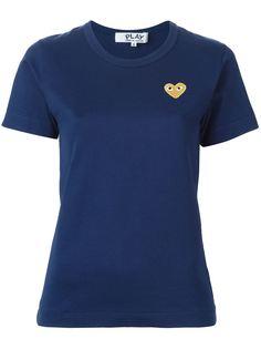 футболка с вышивкой в форме сердца Comme Des Garçons Play
