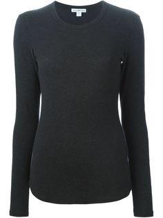 приталенный свитер James Perse