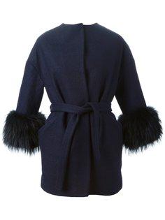 пальто Florida с меховыми манжетами Ava Adore