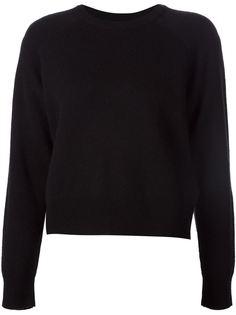 свитер с круглым вырезом T By Alexander Wang