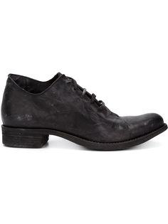 ботинки на шнуровке с потертой отделкой A Diciannoveventitre