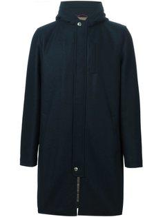 стеганое пальто с капюшоном Brunello Cucinelli