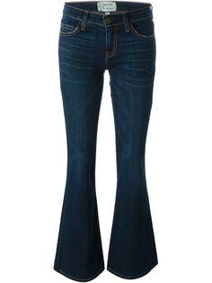 расклешенные джинсы The Low Bell Current/Elliott