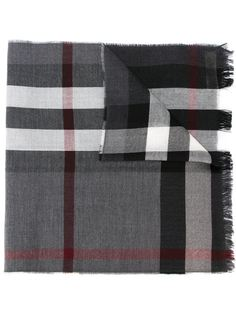 клетчатый шарф Burberry