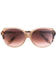 солнцезащитные очки с круглой оправой Victoria Beckham