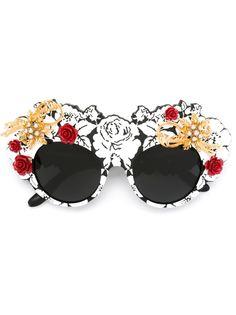 солнцезащитные очки Mamas Brocade Dolce & Gabbana Eyewear