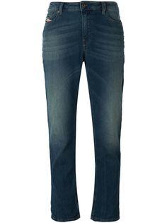 укороченные джинсы свободного кроя Diesel
