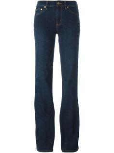 расклешенные джинсы  Tory Burch
