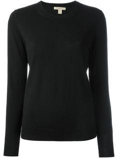 свитер с локтевыми заплатками Burberry