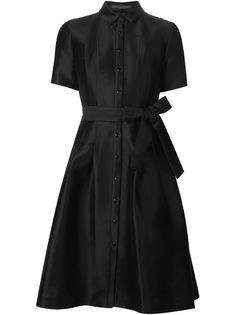 платье-рубашка с поясом Carolina Herrera