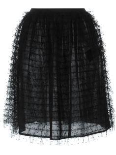 юбка из тюля Red Valentino