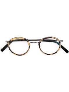 очки с леопардовым принтом Masunaga