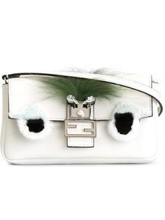 микро сумка через плечо Baguette Bag Bugs Fendi
