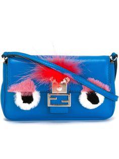 микро сумка Baguette Bag Bugs Fendi