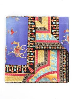 шарф с принтом Marco Polo Versace