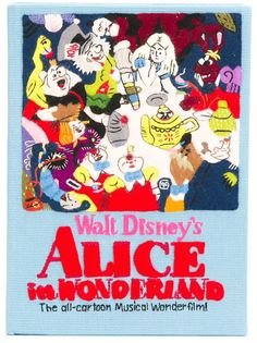 клатч Alice In Wonderland Olympia Le-Tan