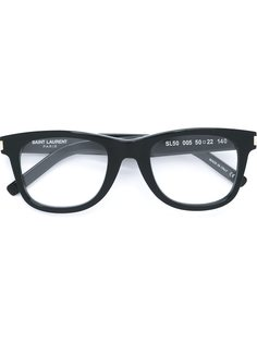очки в оправе Wayfarer Saint Laurent Eyewear