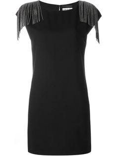 платье шифт  Saint Laurent