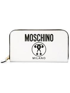 кошелек с двойным вопросительным знаком Moschino