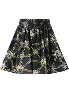 юбка с принтом  Fausto Puglisi