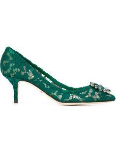 декорированные туфли  Dolce & Gabbana