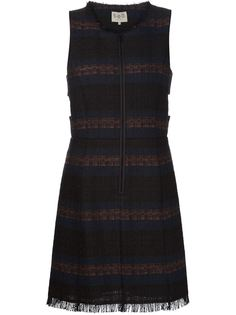полосатое платье А-силуэта Sea
