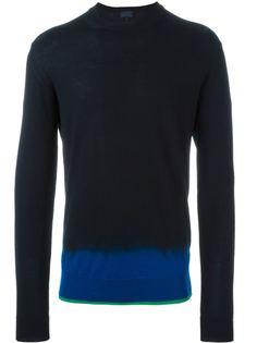 свитер с контрастным подолом Lanvin
