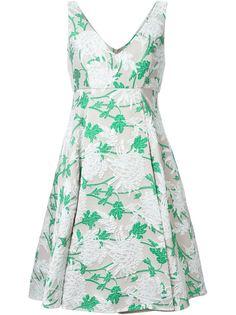 платье без рукавов из парчи  P.A.R.O.S.H.