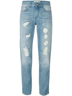 джинсы с потертой отделкой RoyRogers x P.A.R.O.S.H. P.A.R.O.S.H.