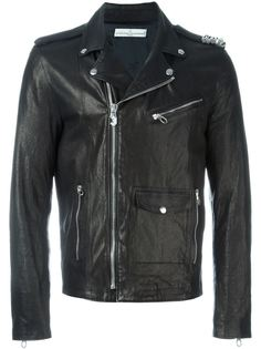 байкерская куртка  Golden Goose Deluxe Brand