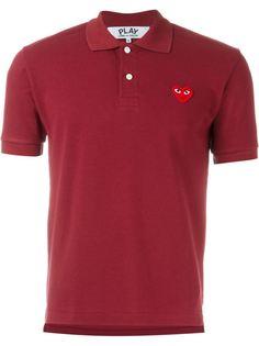 футболка-поло с вышивкой Comme Des Garçons Play