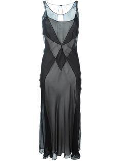полупрозрачное платье  Maison Margiela