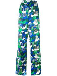 широкие брюки с принтом  Dsquared2