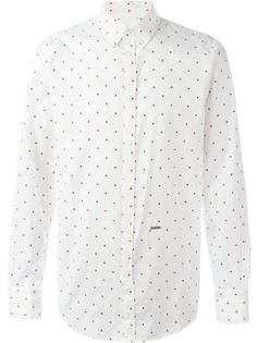 рубашка с мелким принтом Dsquared2