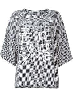 футболка с принтом  Société Anonyme