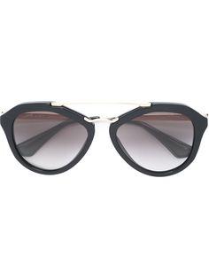 солнцезащитные очки в D-оправе  Prada Eyewear