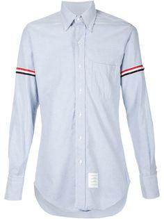 рубашка с полосками на рукавах Thom Browne