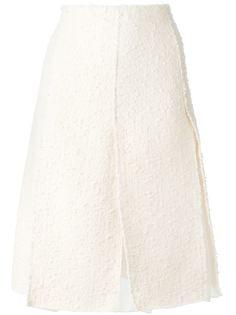 вязаная юбка из букле  Nina Ricci