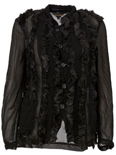 куртка с отделкой из искусственного меха  Comme Des Garçons