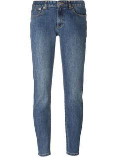 зауженные джинсы  A.P.C.