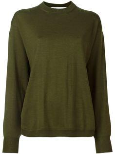 свитер с разрезами на рукавах Givenchy