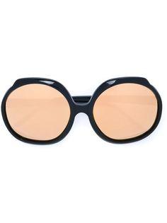 большие солнцезащитные очки  Linda Farrow