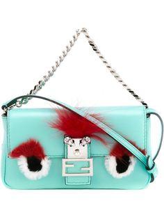 мини сумка через плечо Bag Bugs Baguette  Fendi