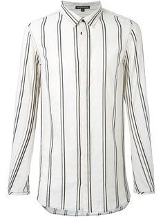 полосатая рубашка свободного кроя  Ann Demeulemeester