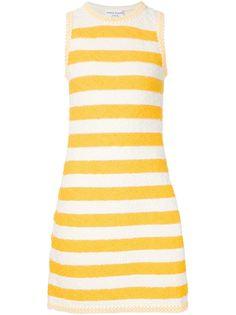 полосатое платье букле Sonia Rykiel