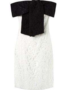 off the shoulder lace dress Martha Medeiros